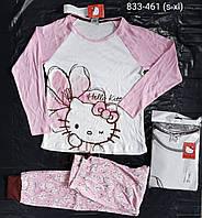 Пижама женская Hello Kitty оптом, XS-XL рр. Артикул: 833-461