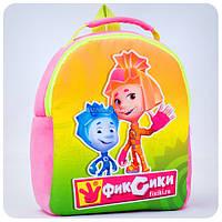 Рюкзак «Фиксики» - Симка и Нолик (розовый)