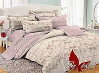 ✅ Полуторный комплект постельного белья (Поплин) TAG PC056