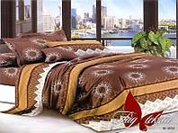 ✅ Двуспальный Евро комплект постельного белья (Поликоттон) TAG B202