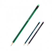 Олівці AXENT 9006/100 графітові HB шестигранні в тубі (100)