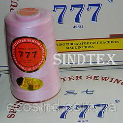 """145 Нитки """"777""""  швейные цветные 40/2 4000ярдов (от 6 бобин) (6-777-145)"""