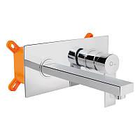 Смеситель для раковины скрытого монтажа Q-tap Form CRM 001B