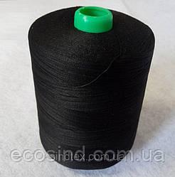 Черные швейные 30/2 мерсеризованные хлопковые нитки 5000 ярдов (ВЕЛЛ-042)