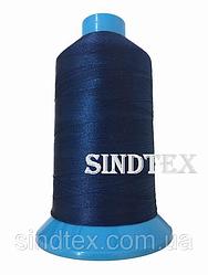 Нитка підвищеної міцності 100% РЕ 10 цв S-039 синій темний (боб 750 ярдів) Nitex (ВЕЛЛ-116)