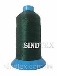 Нитка підвищеної міцності 100% РЕ 10 цв S-153 зелений темний (боб 750 ярдів) Nitex (ВЕЛЛ-177)
