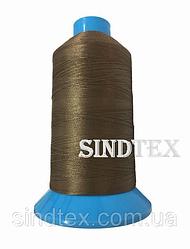 Нитка підвищеної міцності 100% РЕ 10 цв S-161 коричневий (боб 750 ярдів) Nitex (ВЕЛЛ-186)