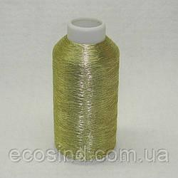 3048 Нитки металлизированные вышивальные 120/2 полиэстер ТМ Nitex (5000ярдов) (ВЕЛЛ-263)