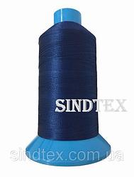 Нитка підвищеної міцності 100% РЕ 10 цв S-388 синій (боб 750 ярдів) Nitex (ВЕЛЛ-304)