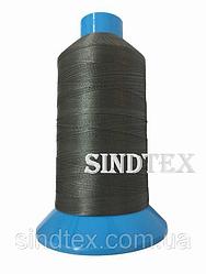 Нитка підвищеної міцності 100% РЕ 10 цв S-392 сірий темний (боб 750 ярдів) Nitex (ВЕЛЛ-307)