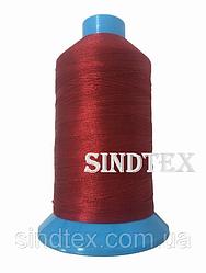 Нитка підвищеної міцності 100% РЕ 10 цв S-519 червоний темний (боб 750 ярдів) Nitex (ВЕЛЛ-327)