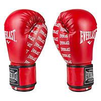 Боксерские перчатки Everlast красные EV2218