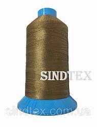 Нитка підвищеної міцності 100% РЕ 10 цв S-858 коричневий світлий (боб 750 ярдів) Nitex (ВЕЛЛ-378)