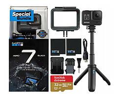Спортивна камера GoPro HERO7 Black Special Bundle