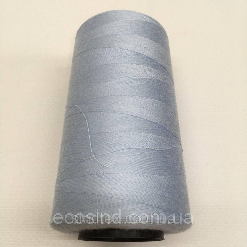 Нить швейная 100% PE 40/2 цв S-350 голубой (боб 4000ярдов) NITEX (ВЕЛЛS-350)