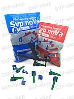 Система выравнивания плитки NOVA (Основа 500шт 2мм + Клин 200шт + Инструмент)