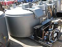 Охладитель молока открытого типа Alfa Laval 400 л с б/у компрессором