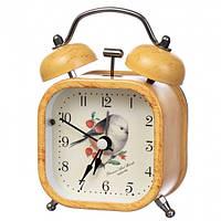 """Часы-будильник """"Цветные птички"""" (10*7.5*4.5 см) *рандомный выбор дизайна, 020AK"""