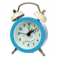 """Часы-будильник """"Дельфины"""" (7.5*5.5*1.5 см) *рандомный выбор дизайна, 011AK"""