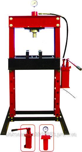 Пресс гидравлический ручной напольный 30 т. (ZX0901D)