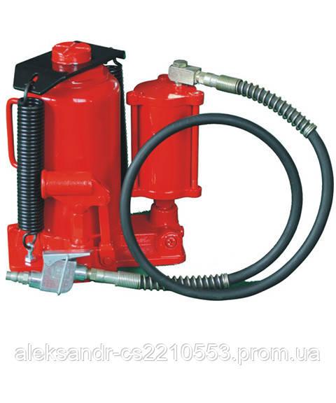 Домкрат бутылочный пневмо-гидравлический 20 т. (ZX1001B)