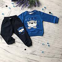 Синий костюм на мальчика Breeze 225. Размер 68 см, фото 1