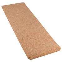 Коврик для йоги Пробковый 2-х слойный 4мм N274