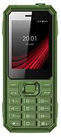 """Мобильный телефон ERGO F248 Defender DS Green2.4"""" АКБ 2000 мА*ч IP67"""