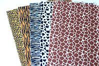 Набор корейского жесткого фетра Pugovichok Шкуры животных 5 цветов hubwWOR50249, КОД: 128650