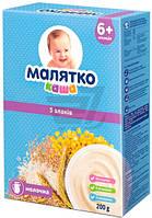 Каша молочная Малятко 5 злаков 5414752104001 200 г