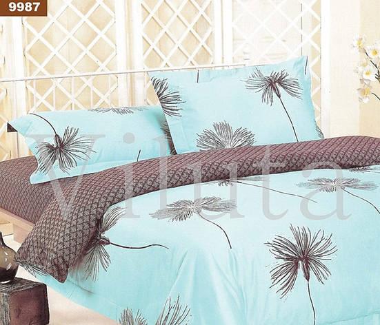 9987 Двуспальное постельное белье ранфорс Viluta, фото 2