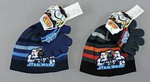 {есть:Один размер} Шапка+перчатки для мальчиков Star Wars, Артикул: 780-254 [Один размер]