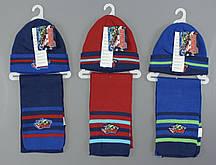 {есть:Один размер} Шапка+шарф для мальчиков Avengers, Артикул: 780-484 [Один размер]