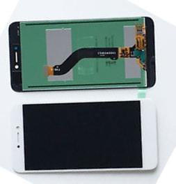 Дисплей модуль Huawei P8 Lite 2017 PRA-LA1 в зборі з тачскріном, білий, оригінал