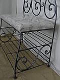Кованый набор мебели в прихожую  -  08, фото 9