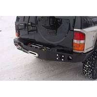Бампер задний под лебёдку для Nissan Patrol Y60