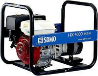 Однофазный бензиновый генератор SDMO HX 4000 C (4 кВт)