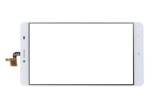 Doogee Y6 Max сенсорний екран, тачскрін білий