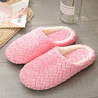 Тапочки домашние женские комнатные. Теплые тапки  39-40 р. (розовые)
