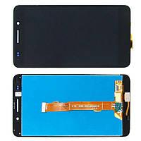 Дисплей модуль Huawei Y6 II / Honor 5A CAM-L21 в зборі з тачскріном, чорний