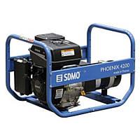 Однофазный бензиновый генератор SDMO Phoenix 4200 (4,2 кВт)