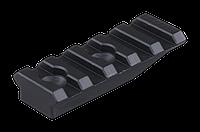 Планка Spuhr A-0003 Пикатинни, 55 мм, алюм., 5 слотов, выс.10 мм, для (3728.00.05)