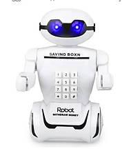 Игрушка детская Robot PIGGY BANK Робот банкомат копилка
