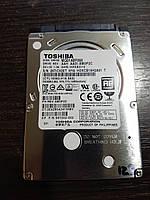 Жесткий диск 500GB HDD для ноутбука 2.5 Toshiba SATA III (MQ01ABF050) +Тонкий 7mm +Наработка 16 дней №123