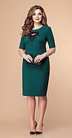 Сукня Romanovich-1-1930/1 білоруський трикотаж, зелений, 50, фото 1