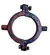 Хомут муфты  выгрузного шнека комбайна СК-5 НИВА в сборе 54-20082А, фото 3