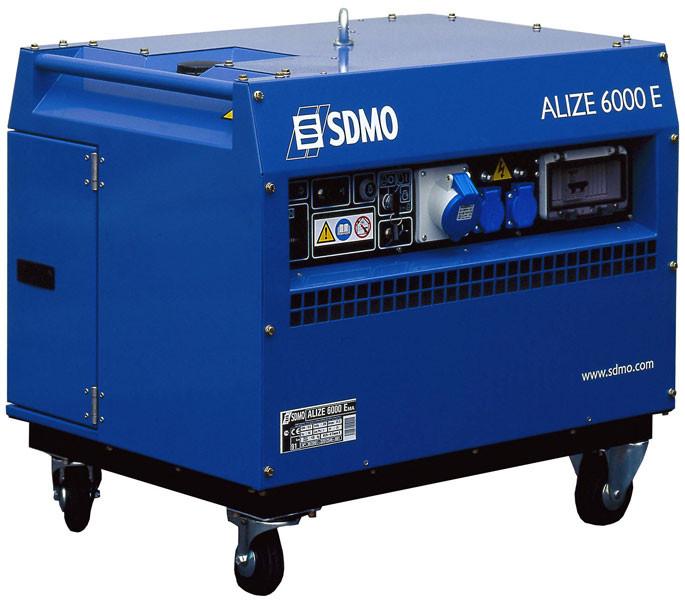 ⚡SDMO Alize 6000 E (5,6 кВт)
