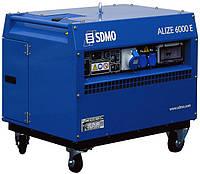 Однофазный бензиновый генератор SDMO Alize 6000 E (5,6 кВт)