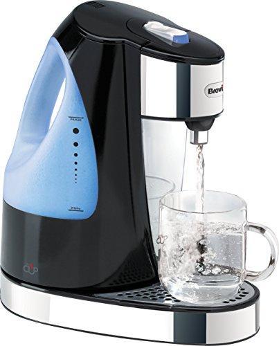 Диспенсер для горячей воды Breville HotCup, 3 кВт, быстрая варка, 1,5 литра, черный глянец [VKJ142]