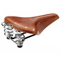 Седло для велосипеда BROOKS B67 Black/Honey (005061)